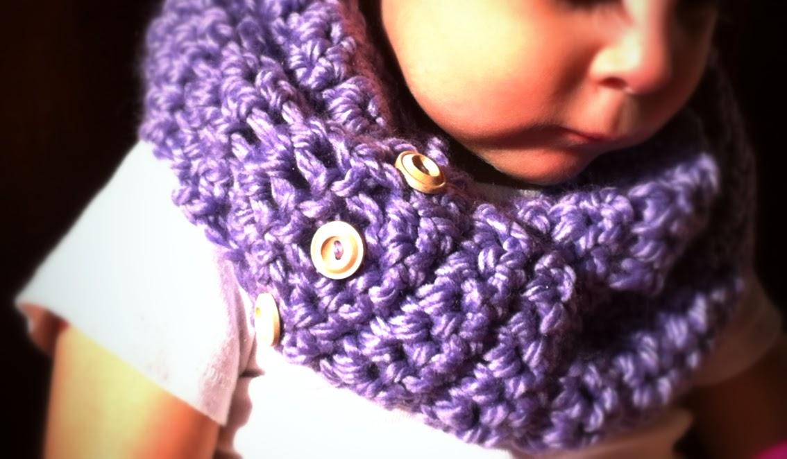Crocheted Babytoddler Infinity Scarf Pattern Ladylion
